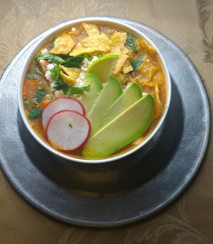 Post holiday happiness Quick Chicken Tortilla soup. #lollipopsicle #tortillasoup #sopadetortilla #Mexicanfood #recipe