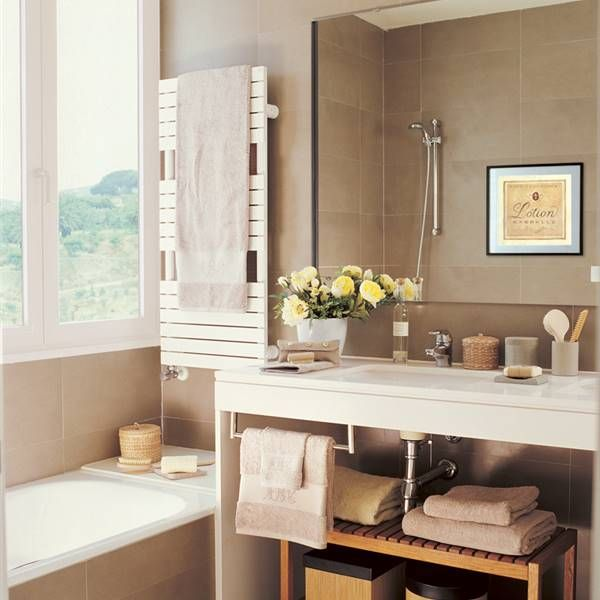 Bien a mano | Radiador toallero, Muebles cuarto de baño ...