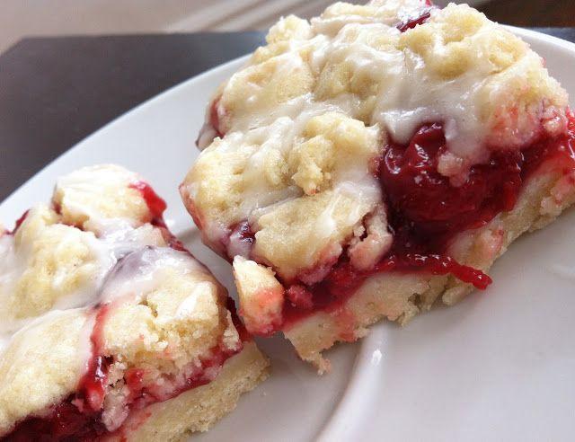 SugarScape: Cherry Pie Bars | Recipes-Cherry Picking | Pinterest