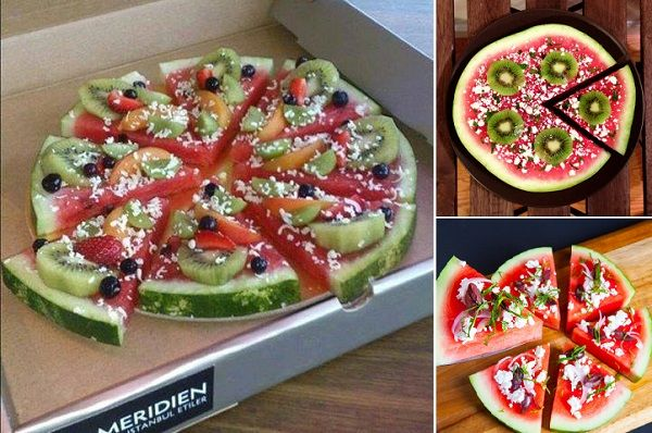 Here's a fun and delicious way to get your pizza fix in a truly healthy way! http://wonderfuldiy.com/wonderfu-diy-delicious-watermelon-pizza/