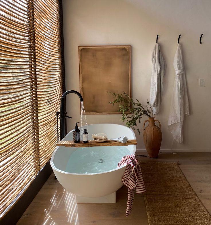 Cozy + Quarantined   EyeSwoon   Bathroom inspiration ...