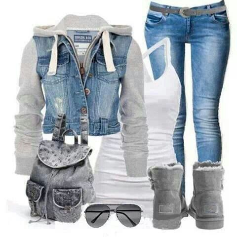 Denim fun!