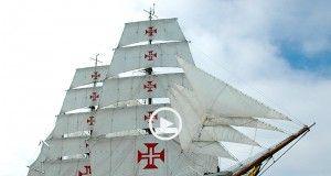 Viagem na Sagres, o mais belo navio do mundo!