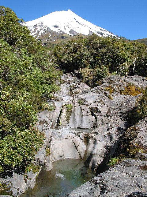 Wilkies Pools, Egmont National Park, Taranaki, New Zealand