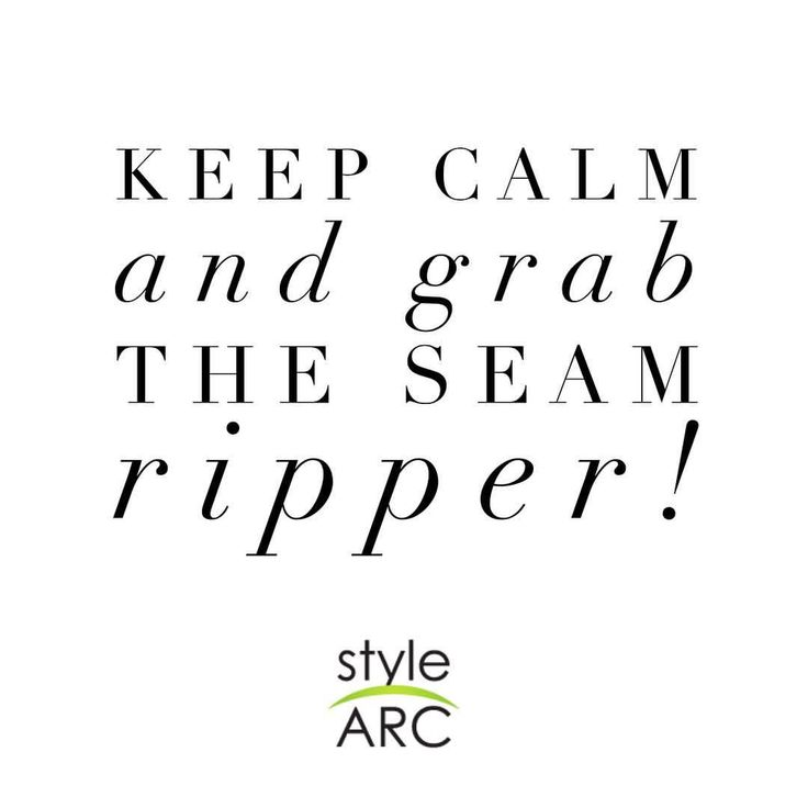 "212 Likes, 7 Comments - Style Arc (@stylearc) on Instagram: ""We've all been there before!  The seam ripper is a sewist's best friend ✂️ #stylearc"""