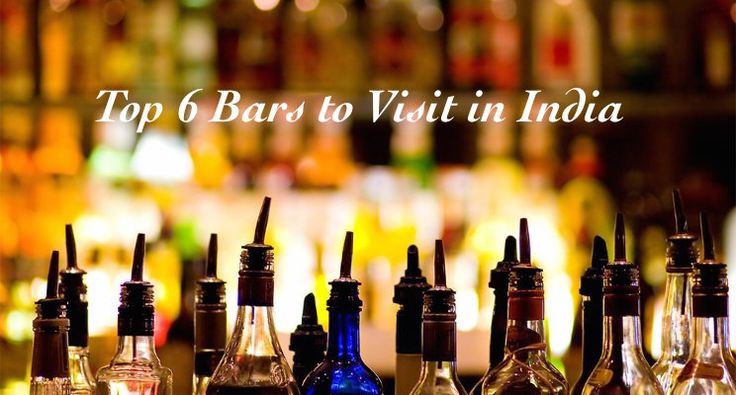 Bars in India you must visit. Whatever be your poison, these bars in India have to be visited for much more than just alcohol.