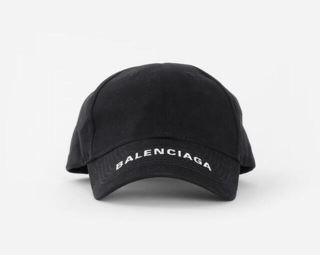 bc8d67355 NEW Baseball Cap Balenciaga Embroidery strapback adjustable hat ...