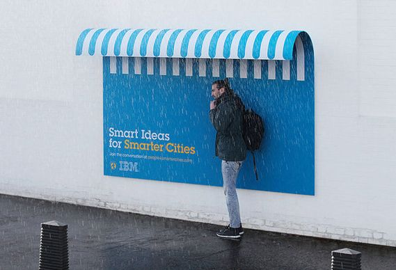 Creative Review - Ogilvy France creates useful posters for IBM