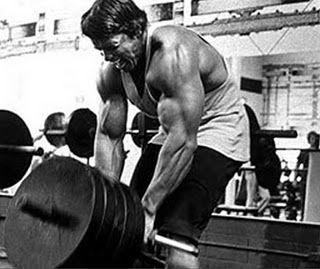 Treino Costas - Treinamento Dorsais Arnold Schwarzenegger