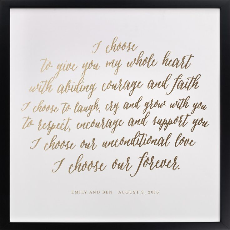 Unique Wedding Vows: Five Personalized Art Gifts That Will Make People Happy