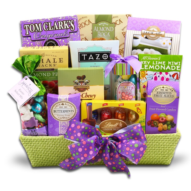 28 best easter gift baskets images on pinterest easter gift find some great ideas for creating a unique easter basket for the adult in your life and if you dont have time to make your own well give you some negle Gallery