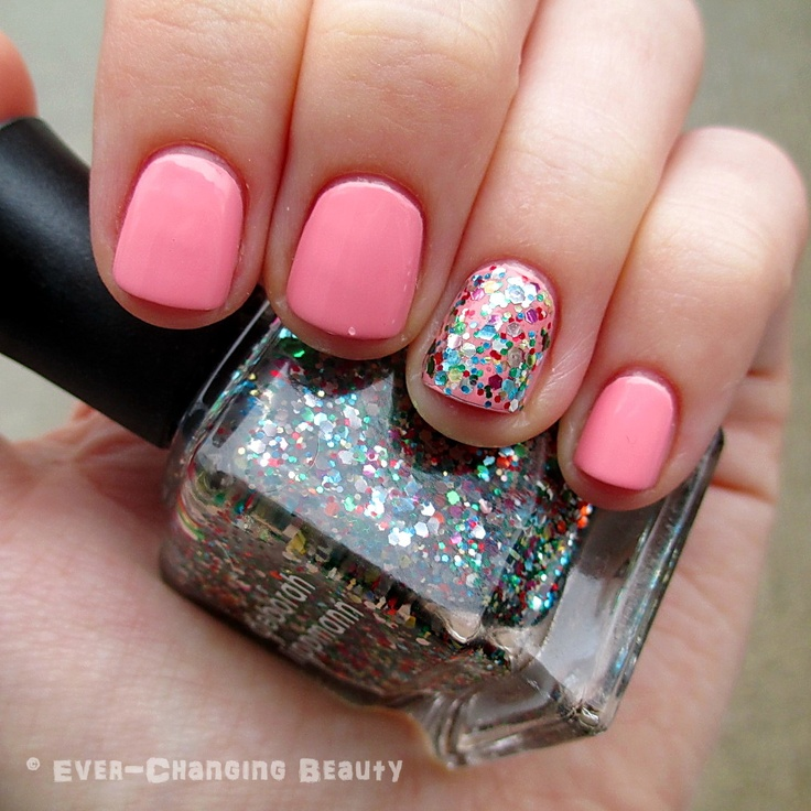 Birthday Nails: Essie Van D'Go And A Happy Birthday
