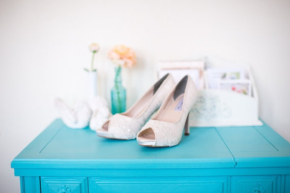 Satin and Lace wedding shoes floral lace by beccaandlouise on Etsy, $146.00
