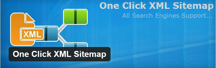One click #sitemap #generator generate XML sitemap with one click. In this you can approve Google webmaster tool and read all search engine.