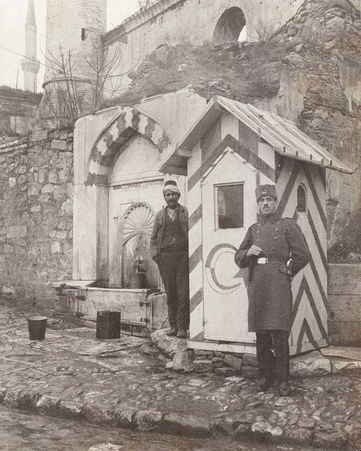 Eski İstanbul FotoğraflarI: Sultan Ahmet Camii Sebili