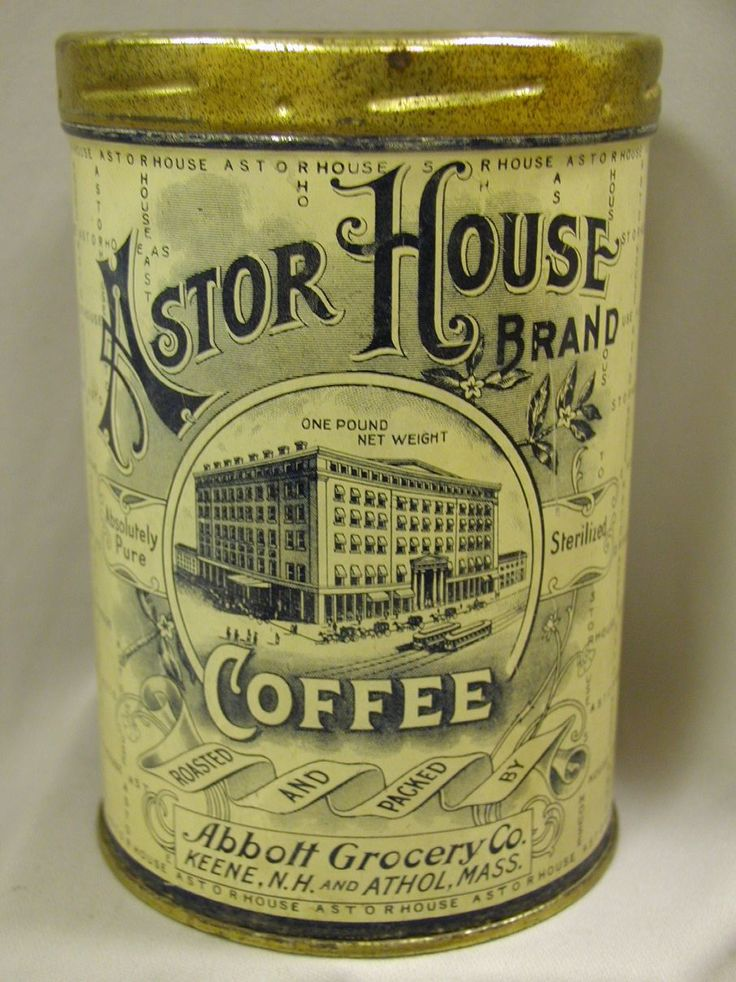 Vintage Coffee Tin #coffee, #drinks, #pinsland, https://apps.facebook.com/yangutu