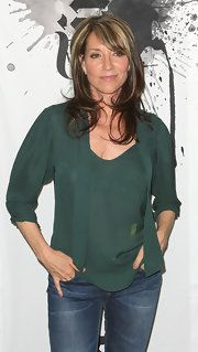 Katey Sagal Loose Blouse