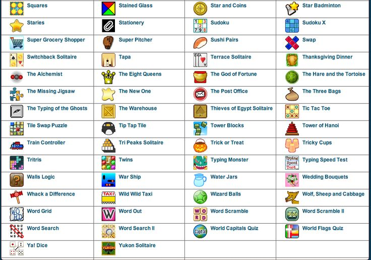 Music Teacher's Games, Educational games for music students