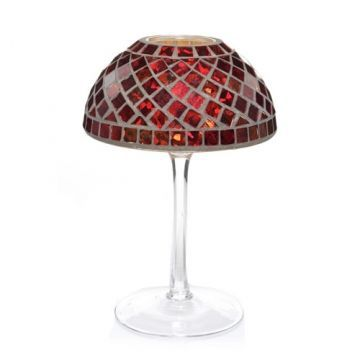 172 best tealight lamps images on pinterest lampshades lamp yankee candle red and gold mosaic tea light holder lamp home kitchen mozeypictures Image collections