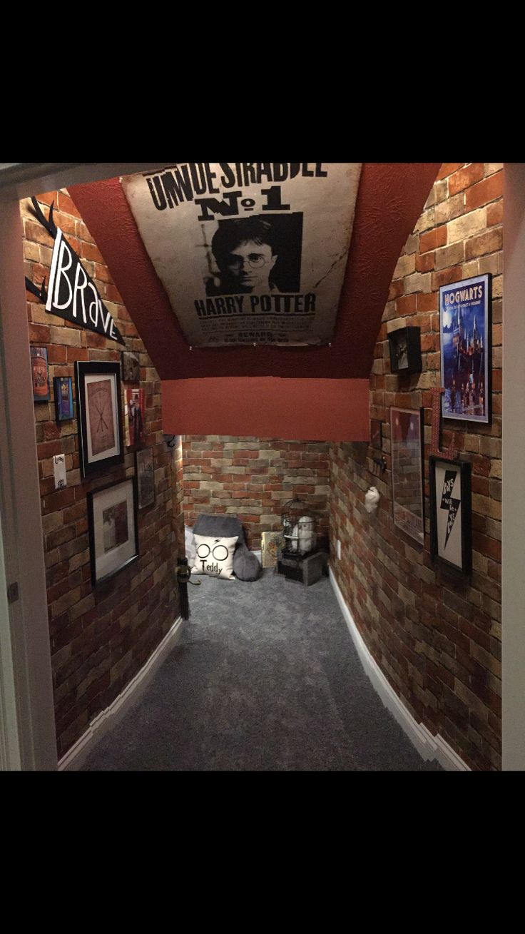 Harry Potter cupboard under the stairs!