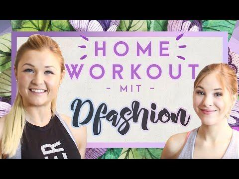 ♥ Teenie FULL Body Workout ♥ mit Dfashion | Sophia Thiel - YouTube