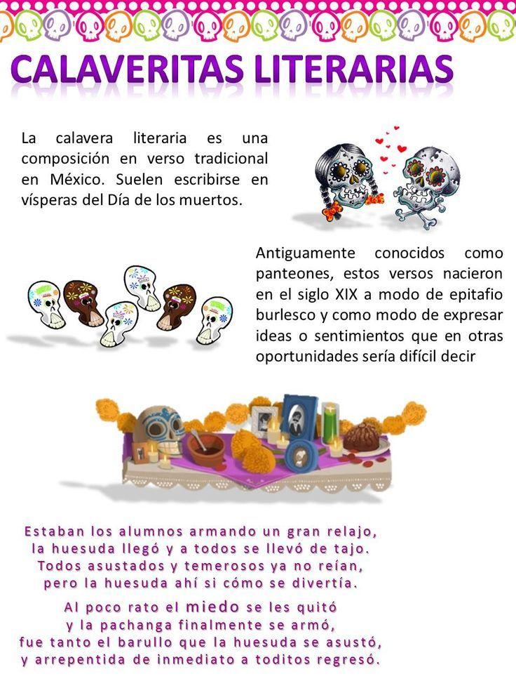 Innovative Classroom Games ~ Calaveras literarias noviembre tic s dia de