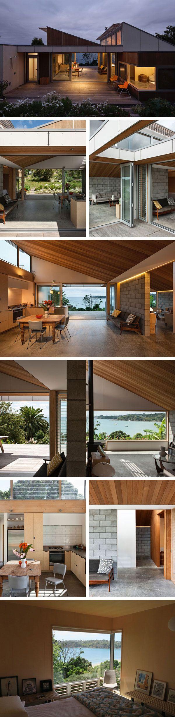 Маленький дом Oneroa House от Vaughn mcQuarrie #tinyhomesdigest #tinyhouse #smallhouse #ecohouse