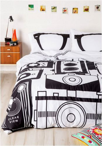 Un dormitorio hipster.
