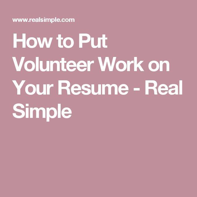 11 best work and resume images on Pinterest Job search, Resume - how to write a resume step by step