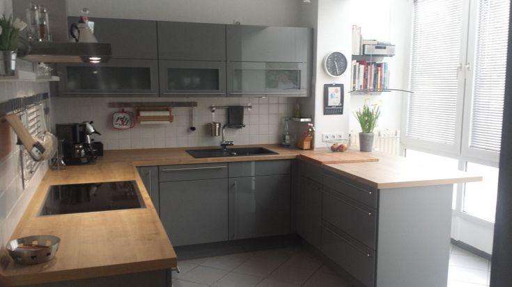 Unsere neue Küche ist fertig. Der Hersteller ist: Nobilia - Focus  - Stilrichtung: Moderne Küchen - Datum der Fertigstellung: Februar 2017