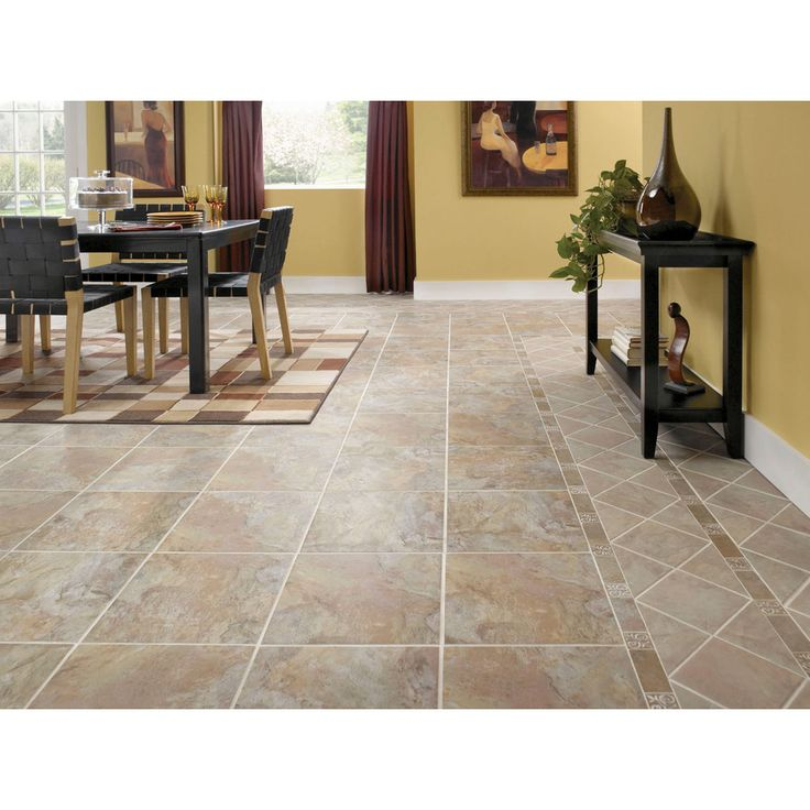 Shop style selections 13 in w x l sierra slate for Columbia laminate flooring canada
