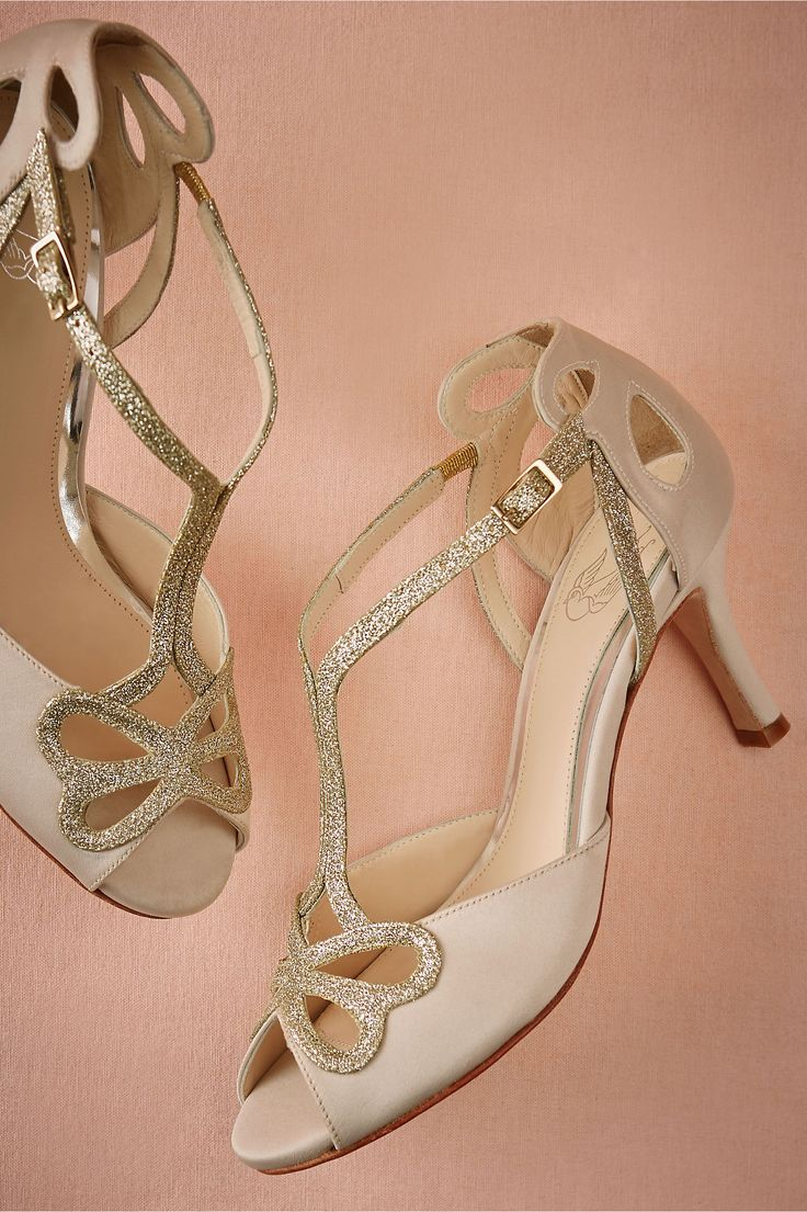 Cora T-Straps in Shoes & Accessories Shoes at BHLDN