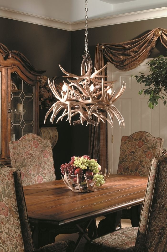 Details about NEW CUSTOM MADE USA OZARK WHITETAIL DEER CHANDELIER LIGHT 3 ANTLER 3 LIGHT 66603