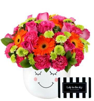 Enamórala con flores y Loly in the sky