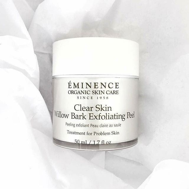 Deep Clean Minimize Pores With Eminenceorganics Clear Skin Willow Bark Exfoliating Peel This Gentl Eminence Organic Skin Care Exfoliating Peel Clear Skin