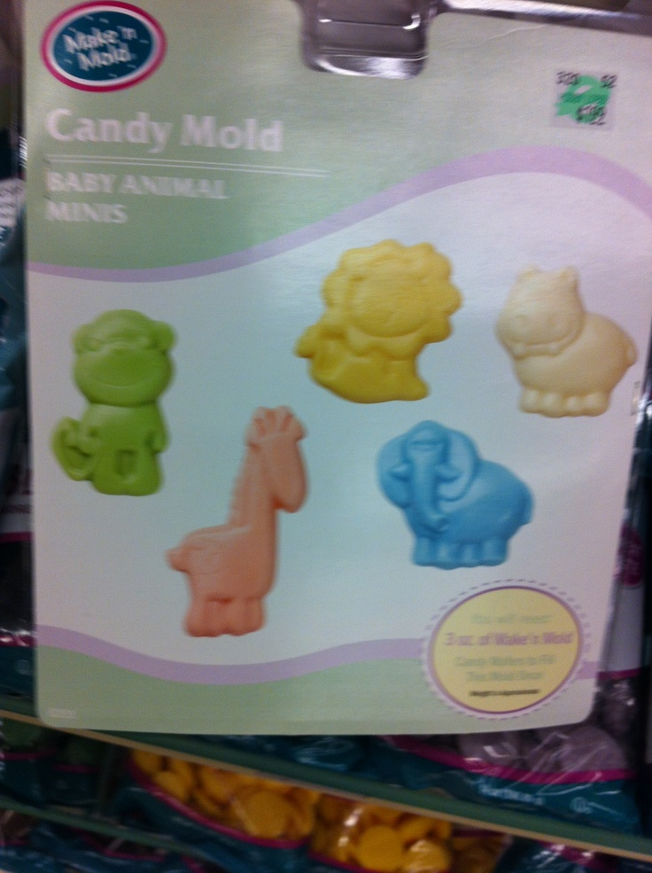 candy molds for baby showers let 39 s get crafty pinterest
