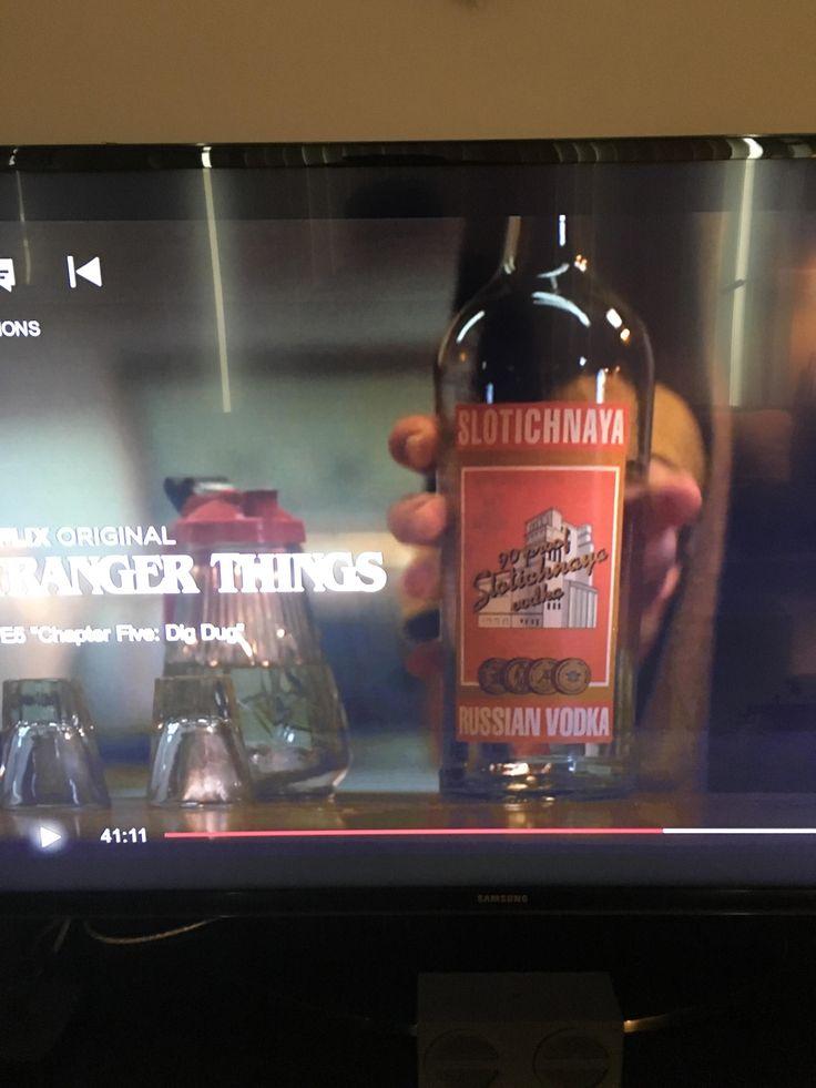 Stranger Things misspelled an old Stoli Vodka label in the new season
