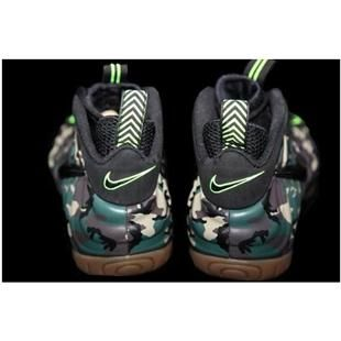 Nike Air Foamposite Pro Green Camo