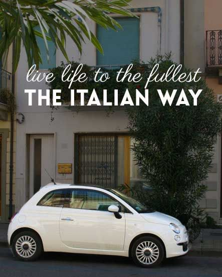 Live life to the fullest the Italian way http://www.huffingtonpost.com/findery/living-life-to-the-fulles_b_6809832.html