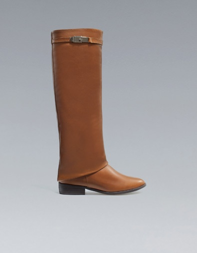 RIDING BOOT - Boots - Shoes - Woman - ZARA Netherlands