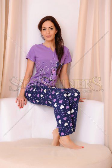 Pijama Adorable Night Purple
