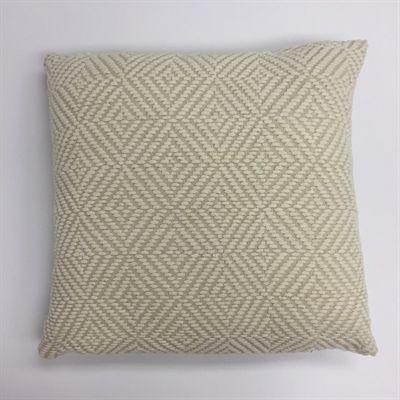allen + roth Off-White Striped Chair Cushion