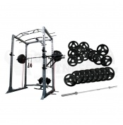 Force USA Power Rack w/ Lat Pull & 200kg Olympic Weight Plates  This package includes the following items:  - 1 x Force USA - Power Rack with Lat Pull Down -  F-PR-L - 8 x 15kg Rubber Coated Olympic Weight Plates - 4 x 10kg Rubber Coated Olympic Weight Plates - 8 x 5kg Rubber Coated Olympic Weight Plates - 1 x 7 foot Olympic Barbell - 500lbs   For more info visit: http://www.gymandfitness.com.au/force-usa-power-rack-w-lat-pull-200kg-olympic-weight-plates-pack.html