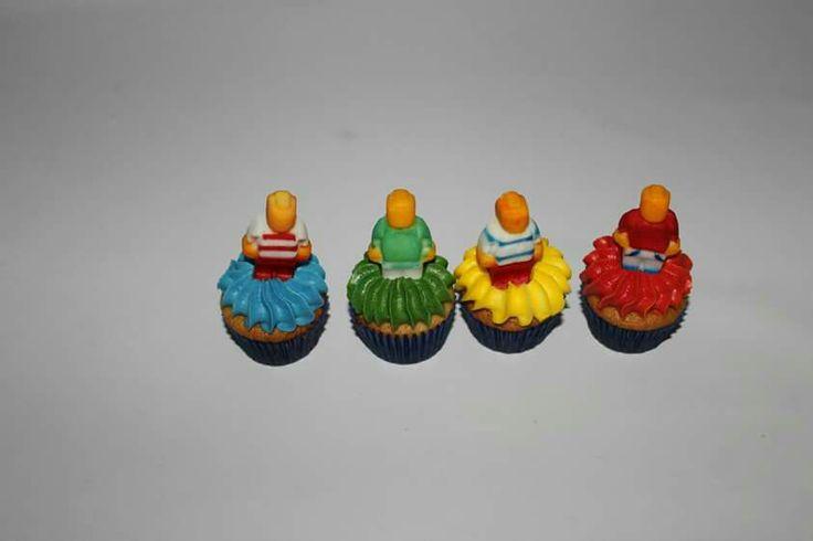 Minicupcakes Lego 100 % Comestibles.