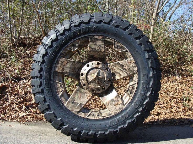 18 Quot Xd Rockstar Wheels Camo 37x13 50 18 Toyo Mt 37 Quot Tires