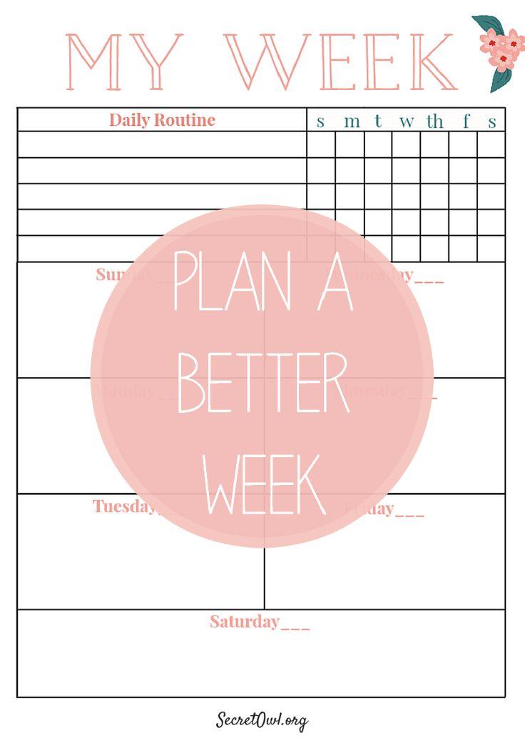 165 best Agenda \/ Planner \/ Bullet Journal images on Pinterest - layout of an agenda