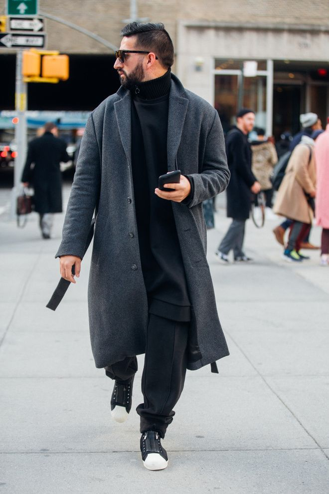 Street style Fashion Week homme automne hiver 2017 2018 New York 65
