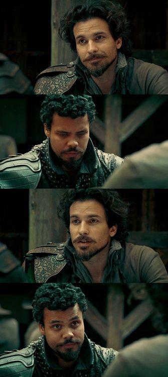 Aramis and Porthos