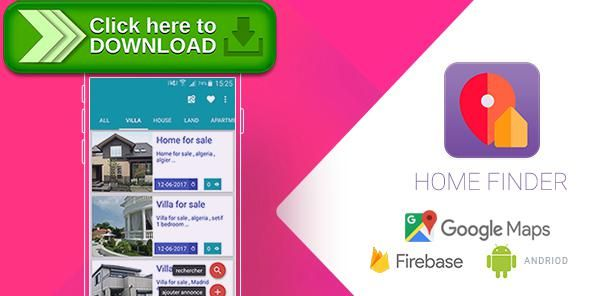 [ThemeForest]Free nulled download Home Finder V2 Realtime Application with Firebase and Google Map from http://zippyfile.download/f.php?id=45277 Tags: ecommerce, database, find, finder, firebase, geolocalisation, home, house, map, online, realtime, sales