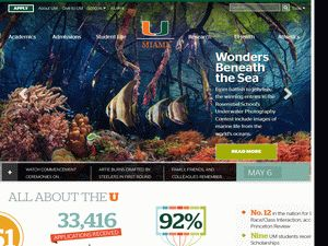 University of Miami Application Essays (College Admissions Essays) Writing…